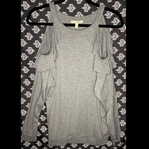EXPRESS: One Eleven Sweater Shirt• Grey